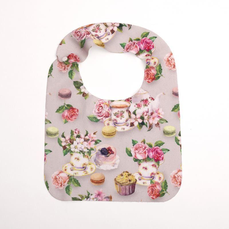 personal design on baby bib