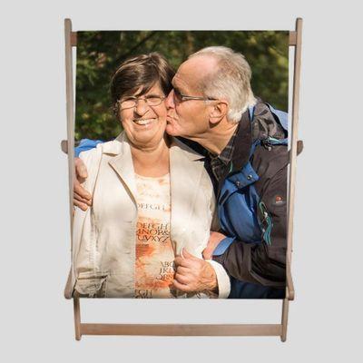 doppel liegestuhl für für großeltern bedrucken lassen