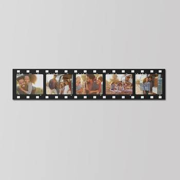gepersonaliseerde canvas met filmstriprand