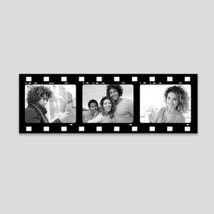 Personalised filmstrip canvas
