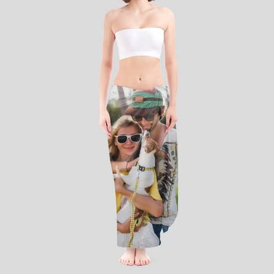 silky personalised sarong