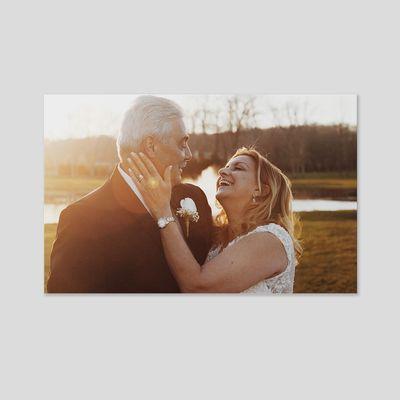 lienzo aniversario personalizado fotos boda