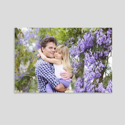 Foto collage su tela per san valentino