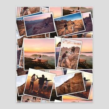 Poster con collage di foto
