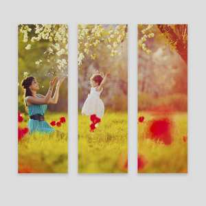 personalised split canvas prints