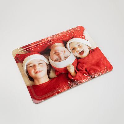 クリスマストレイ 家族写真