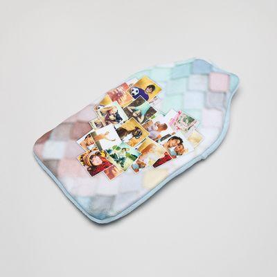 regalo funda bolsa de agua caliente personalizada