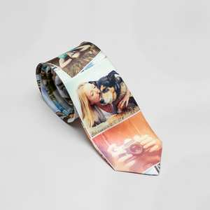 Men's Tie with Photos