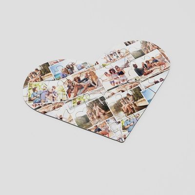 Custom Heart Puzzle