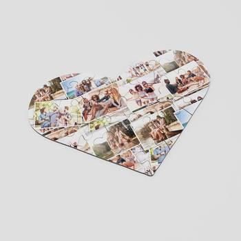 hartvormige puzzel