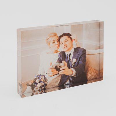 personalized acrylic photos on blocks