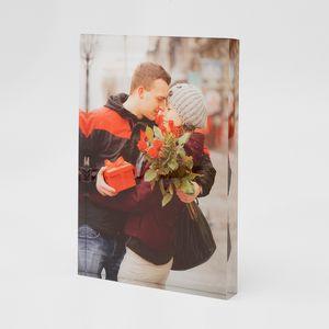 Sweetest day acrylic photo block