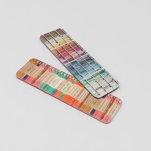 Christmas Leather Bookmark