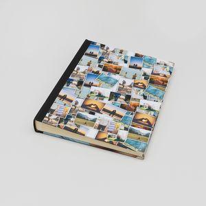 scrapbook bedruckt mit collage geschenk zur einschulung