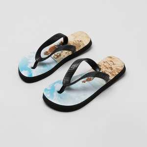 bedrukte flip flops