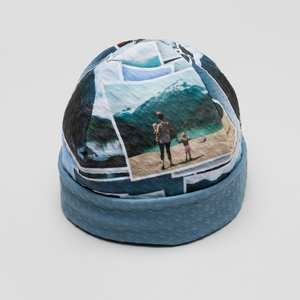 bedruckte mütze