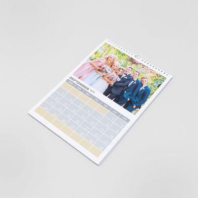 a5 printed calendar