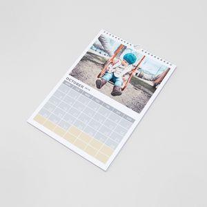 Personalised a5 calendar