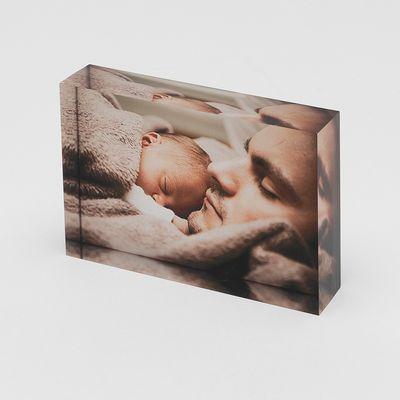 personalised acrylic photo blocks