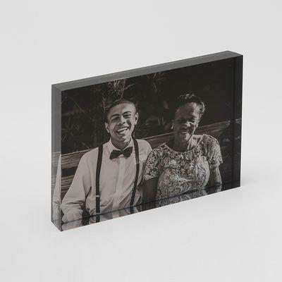fotoblock av akrylglas