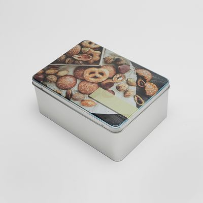caja de galletas metálicas personalizadas