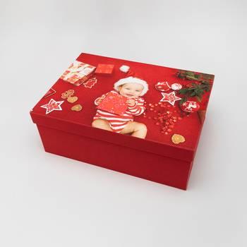 baby herinneringen doos met foto