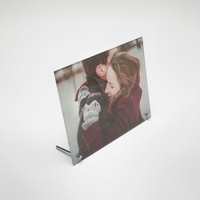 marco cristal con fotos