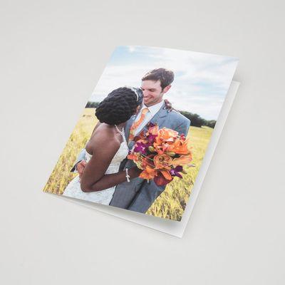 Carte de mariage personnalisée