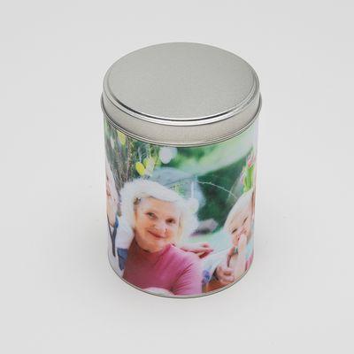 contenitori di latta personalizzati