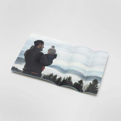 Printed photo pen tray