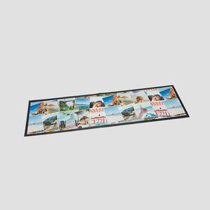 personalised  bar runner mat