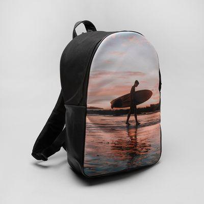 personalised school back pack