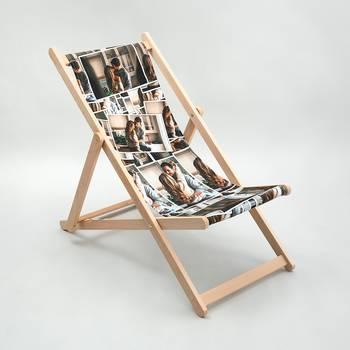 folding beach deck chair