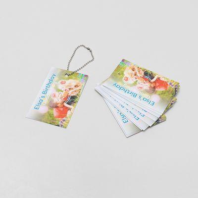 etiquetas de regalo colgantes