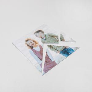 Personalised tangram puzzle