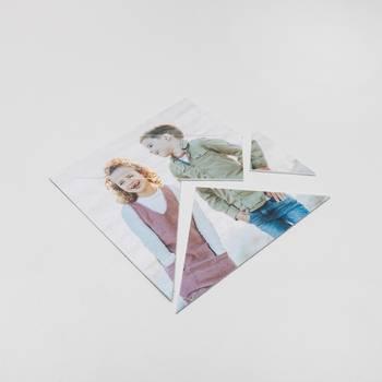 tangram mit kinderfoto bedruckt