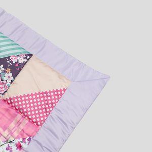 geprinte handgemaakte quilt