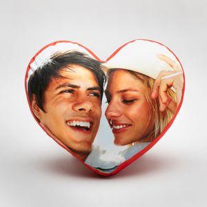 hartvormig kussen