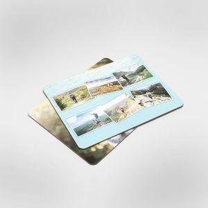 コルクプレイスマット 写真を印刷
