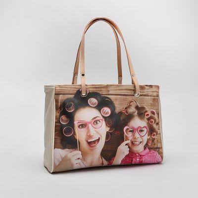 personalised photo handbag