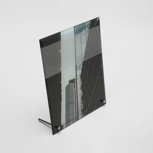 glass desk Frame