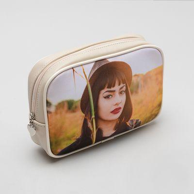 personalized photo makeup bag