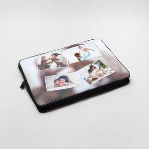 personalised collage laptop bag