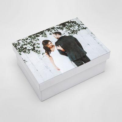 personalised wedding photo box
