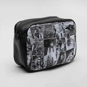 wash bag photo collage