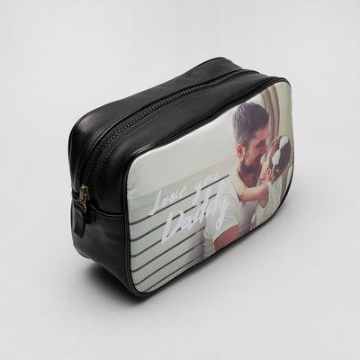 Men's Personalised Wash Bag