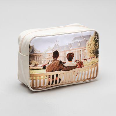 personalised photo washbag