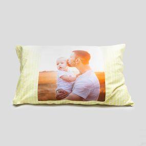 新米パパへのギフト プリント枕カバー
