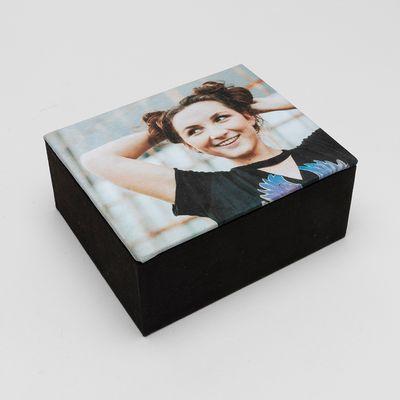 Boîte personnalisée photo