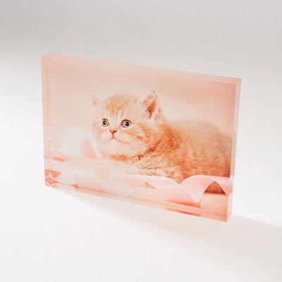 gepersonaliseerd acryl fotoblok